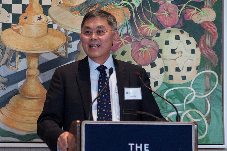 Benjamin Chu, Commonwealth Fund Board Chairman