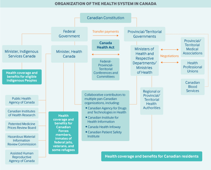 Role of government in health care - Health System Org Chart