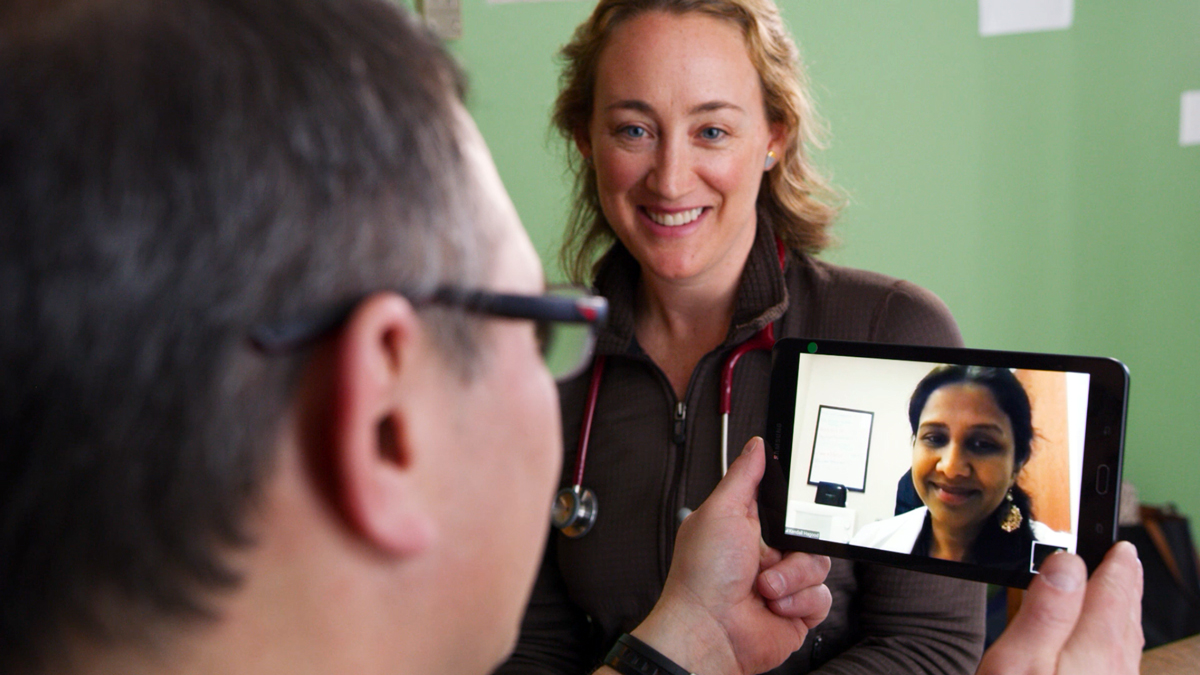 Health systems partnering with Contessa Health provide both home and video visits.