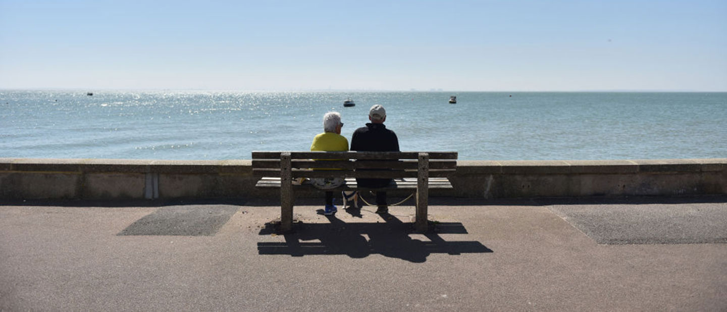 socially isolated seniors in England during COVID-19 pandemic