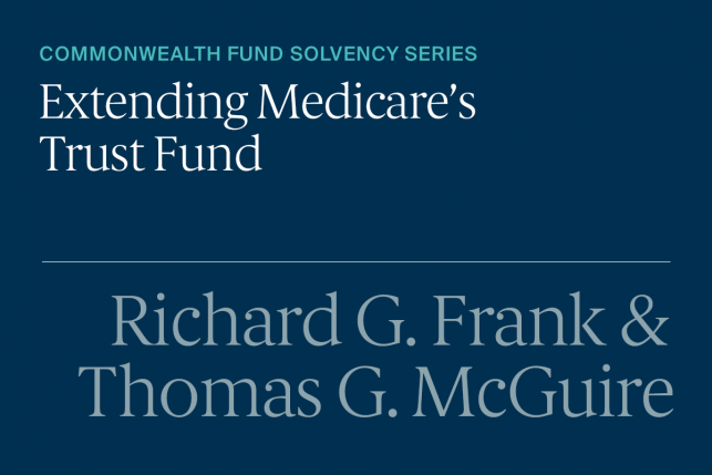 Improving the Financial Condition of the Medicare Health Insurance Trust Fund