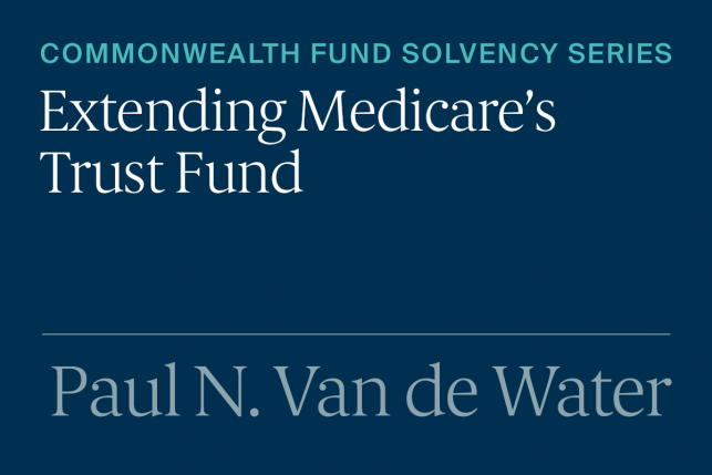 General Revenues Should Be Part of the Medicare Financing Solution