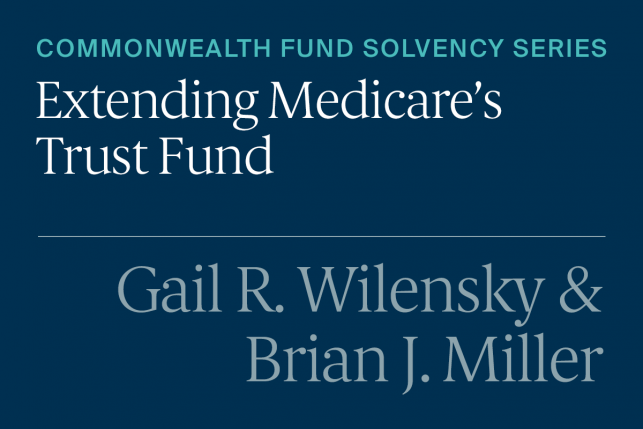 Solutions for Medicare's Continual Fiscal Crisis