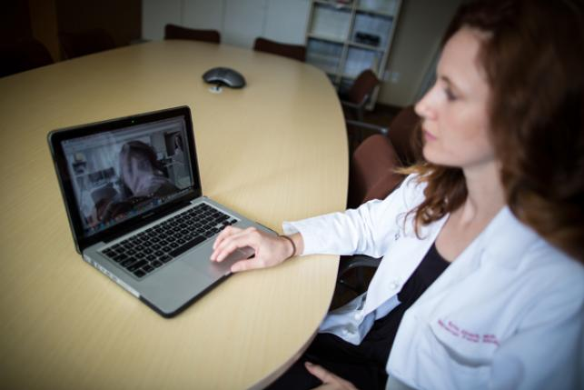 Erin Clark, M.D., associate professor and division director of Maternal-Fetal Medicine at the University of Utah Health, offers a virtual visit.