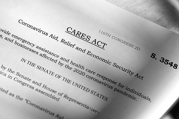 CARES Act legislation