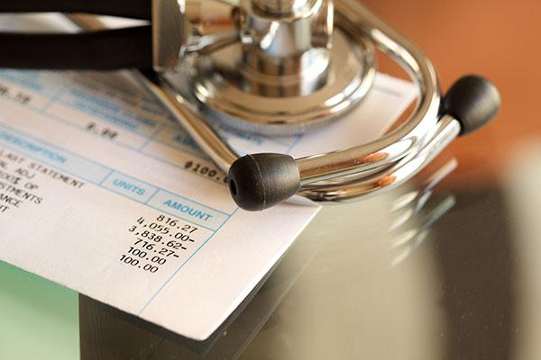 medical bills for patient