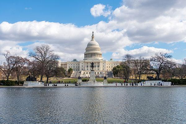 U.S. Capitol Building as Congress Turns to Health Care