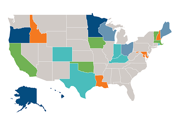 aca innovation waivers map image