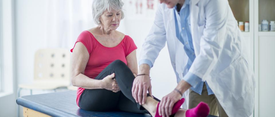 Medicare patient avoiding joint-replacement