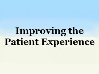 Placeholder Image For Improving the Patient Experience