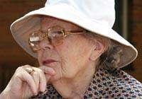 Older Woman with Hat