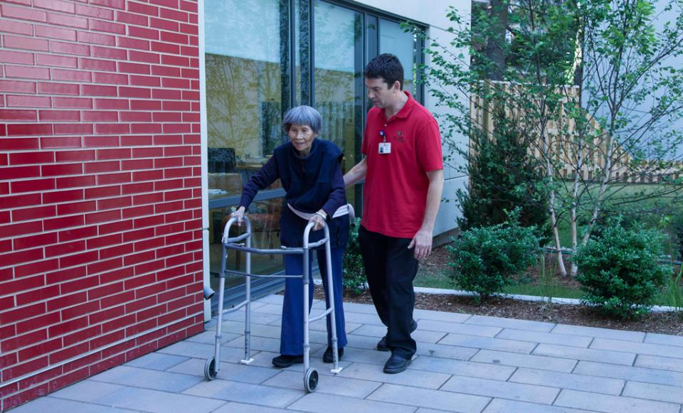 senior nursing home care