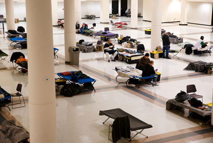 homeless shelter during COVID-19