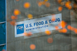 United States FDA office building sign