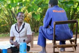 Thrive Gulu Counseling Session
